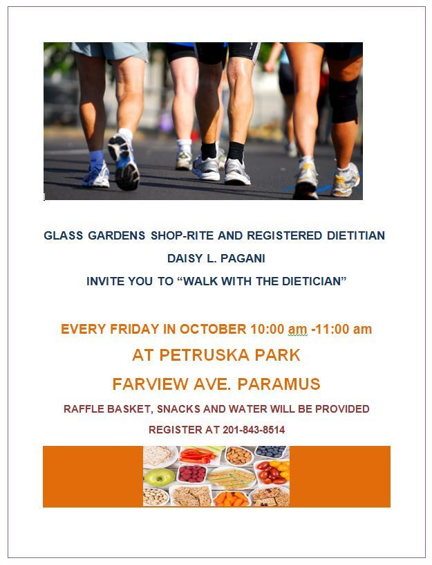 Walk with the Dietician