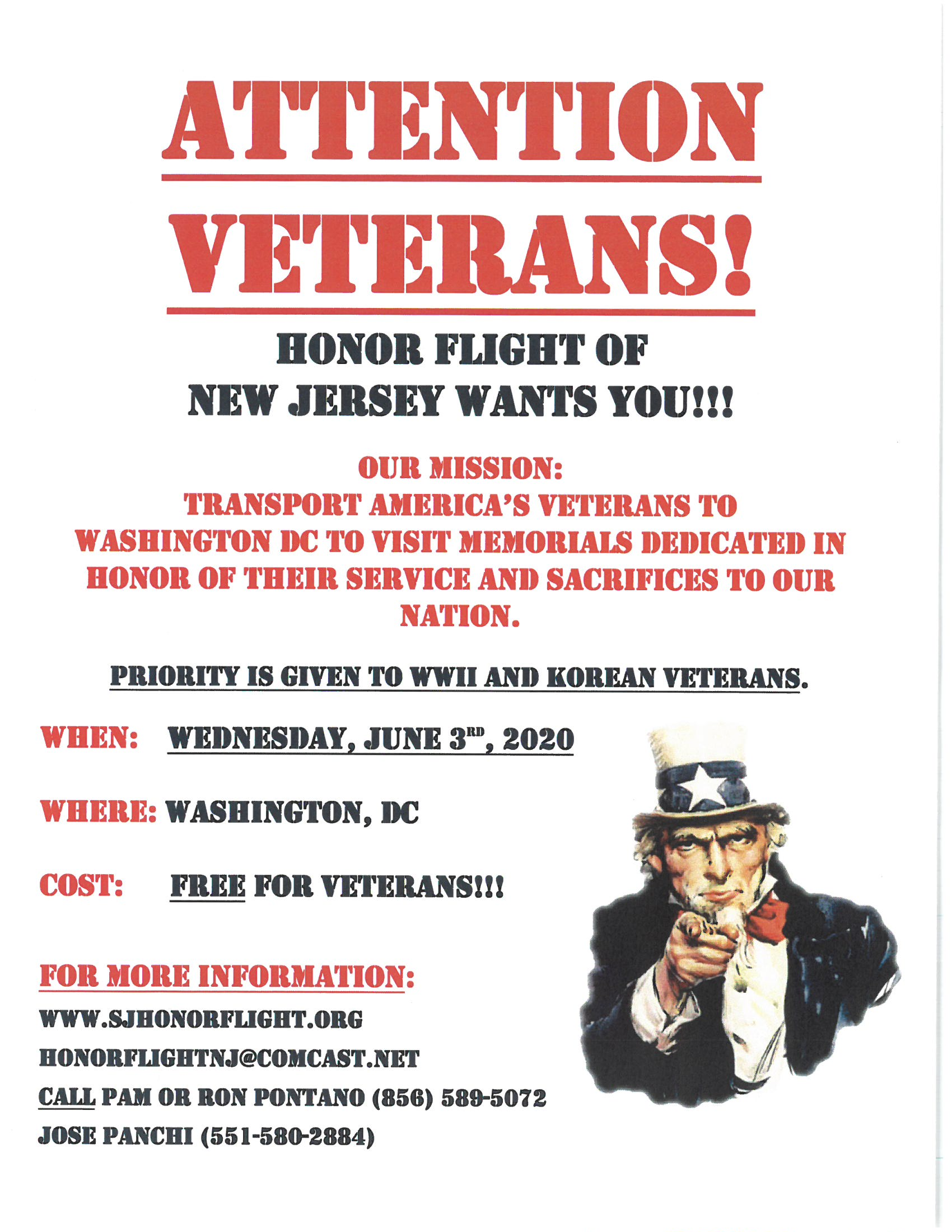 Honor Flight Flyer