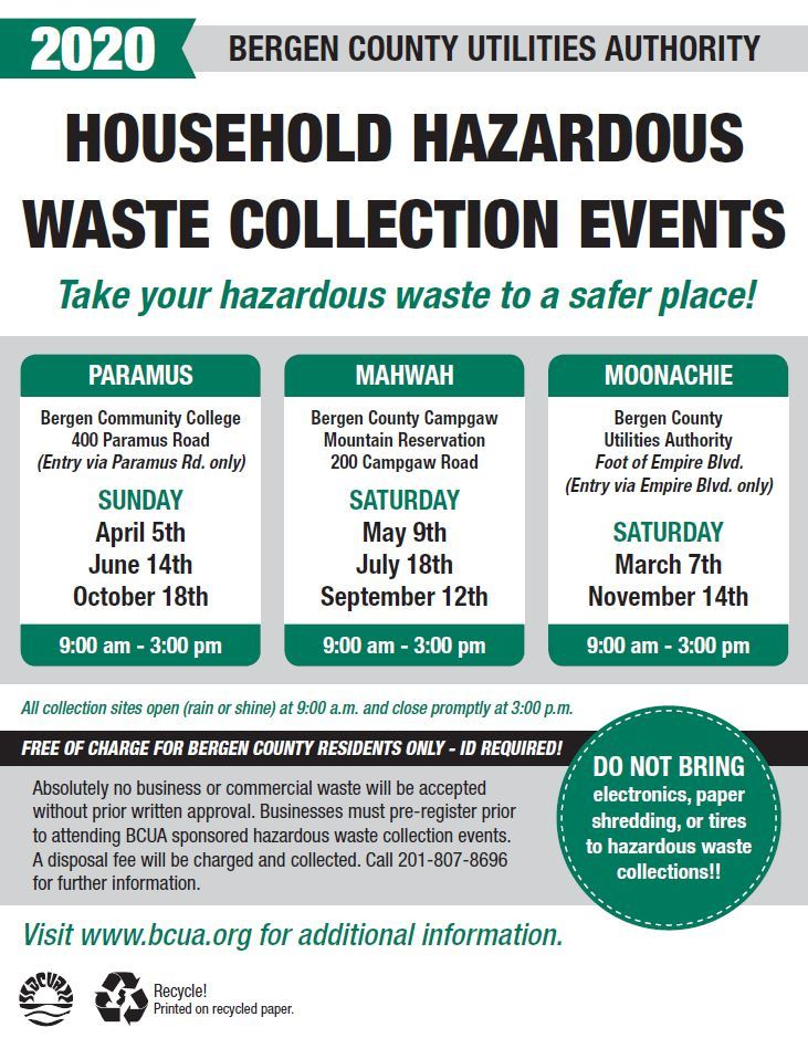 BCUA Hazardous Waste Event