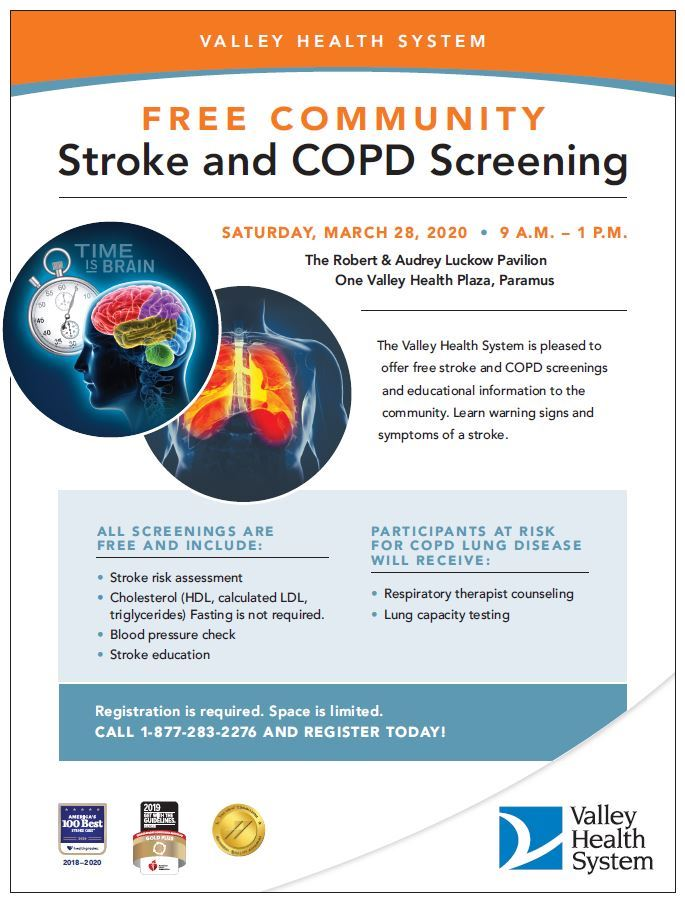 Stroke and COPD Screening