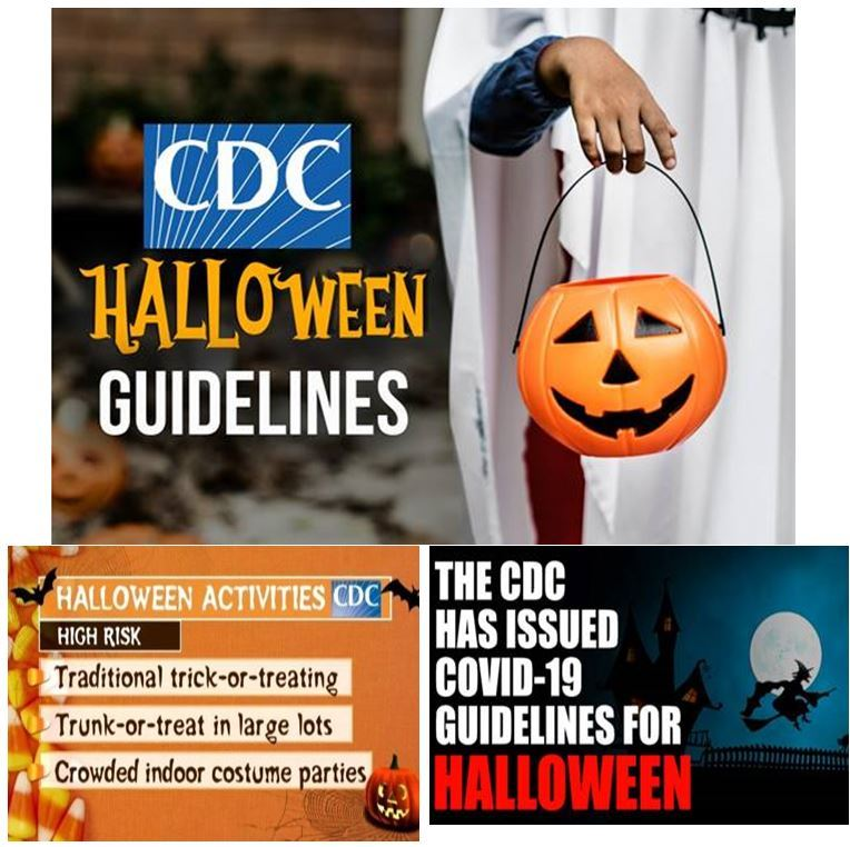 Halloween CDC Guidelines