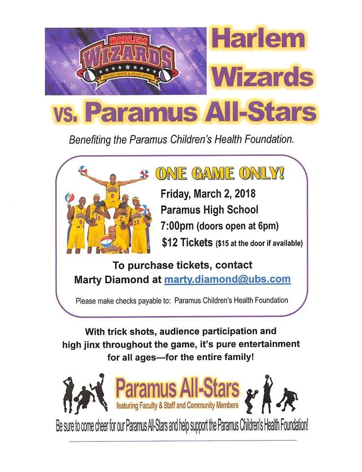 2018 Harlem Wizards Paramus All-Stars Game