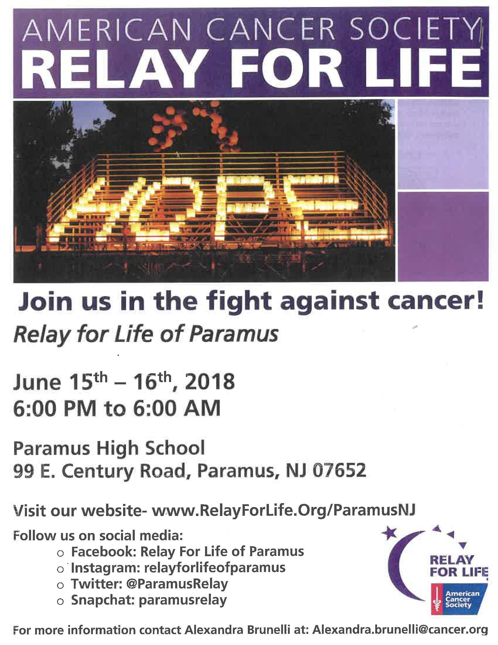 2018 Relay for Life