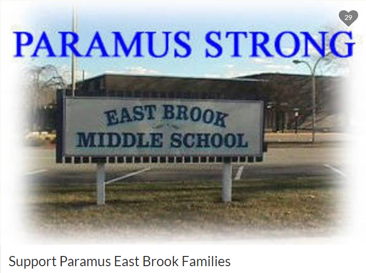 Support Paramus East Brook Families - Go Fund Me